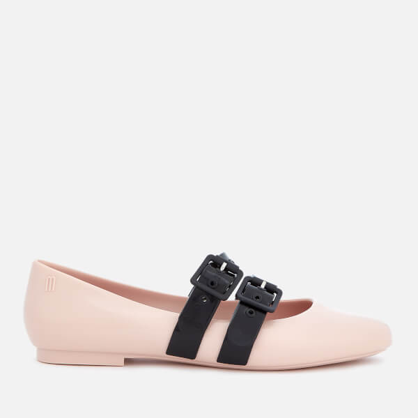 Vivienne Westwood for Melissa Women's Doll Double Strap Flats - Blush Contrast