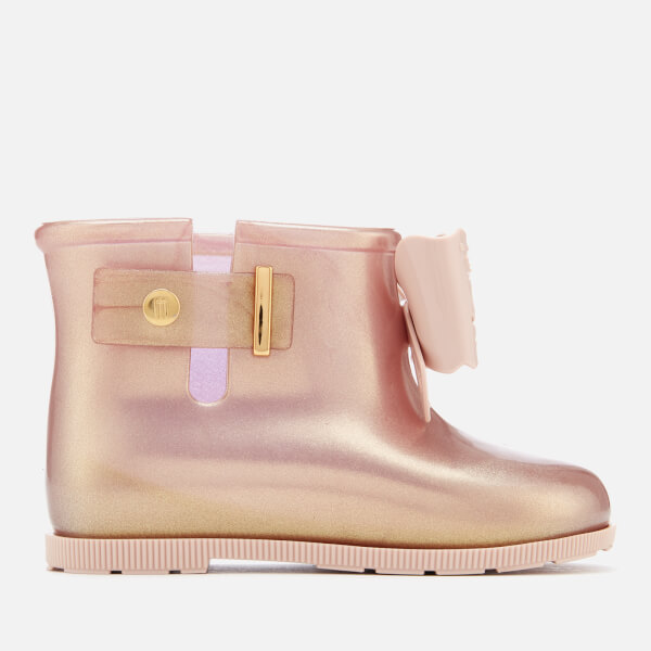 Mini Melissa Toddlers' Sugar Rain Fairy Boots - Rose Gold