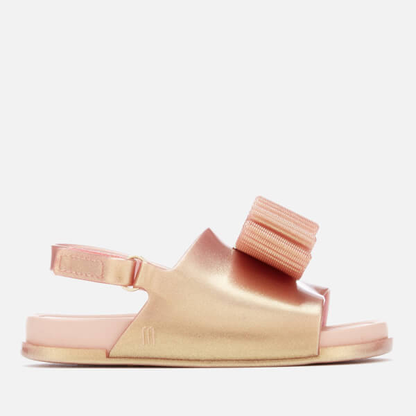 Mini Melissa for Jason Wu Toddlers' Beach Slide Luxe Sandals - Rose Gold