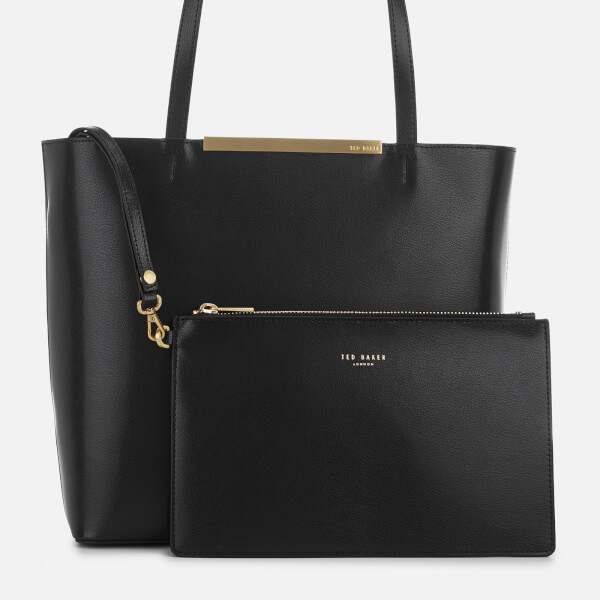 0fb800683cf6ac Ted Baker Women s Melisa Bow Embossed Shopper Bag - Black  Image 5