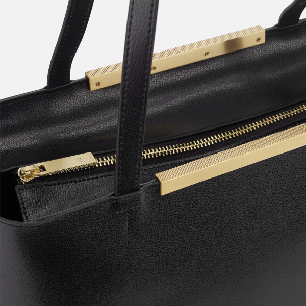 486ba67c49e705 Ted Baker Women s Melisa Bow Embossed Shopper Bag - Black  Image 4