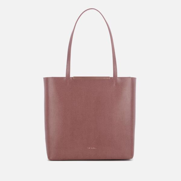 c035060cd7a8 Ted Baker Women s Melisa Bow Embossed Shopper Bag - Pink  Image 1