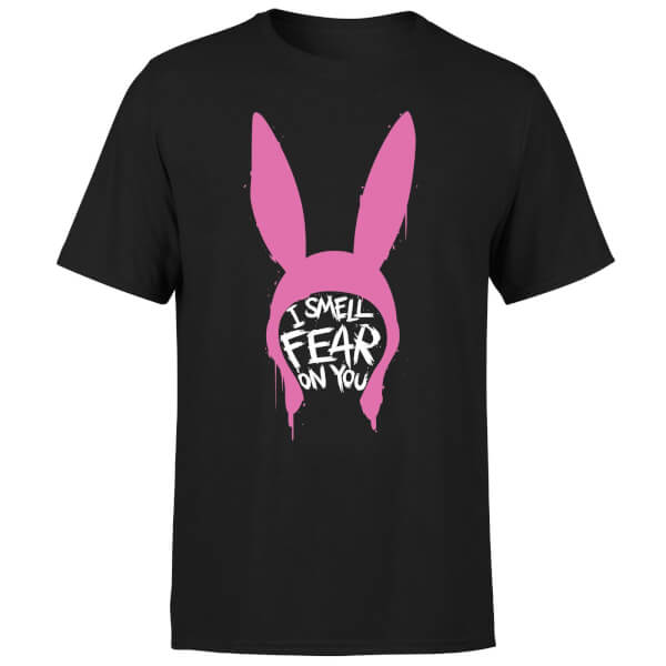 Bobs Burgers I Smell Fear On You Men's T-Shirt - Black