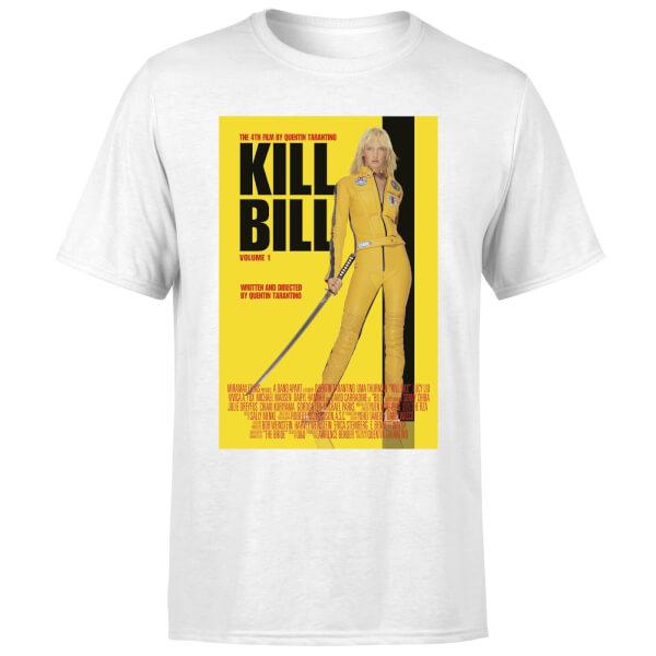 Kill Bill Poster Men's T-Shirt - White