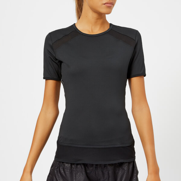 adidas by Stella McCartney Women's Essential Short Sleeve T-Shirt - Black