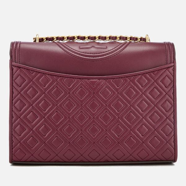 994a80ce28a0 Tory Burch Women s Fleming Convertible Shoulder Bag - Imperial Garnet   Image 2