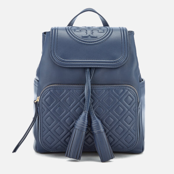 Tory Burch Women's Fleming Backpack - Royal Navy: Image 01