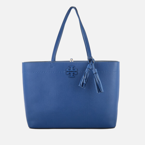 Tory Burch Women's McGraw Tote Bag - Bright Indigo: Image 01