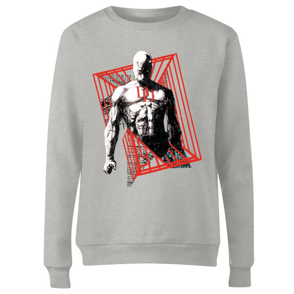 Marvel Knights Daredevil Cage Women's Sweatshirt - Grey