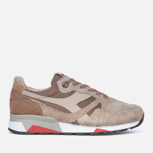 Diadora Men's Heritage N9000 Cashmere Trainers - Brown Pine