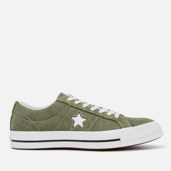 0e5361b2949ac2 Converse Men s One Star Ox Trainers - Field Surplus White Mens ...