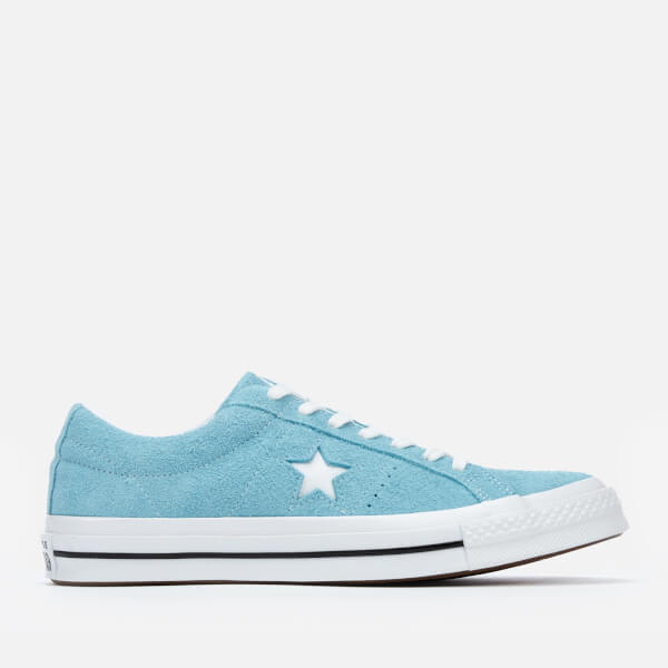 Converse Men's One Star Ox Trainers - Shoreline Blue/White