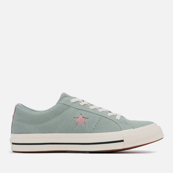 Converse Women s One Star Ox Trainers - Mica Green Diffused Taupe Egret   Image 6221aba1e