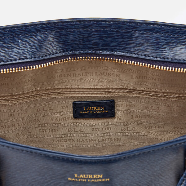1d2fd1354887 Lauren Ralph Lauren Women s Bennington Medium Tote Bag - Navy  Image 5