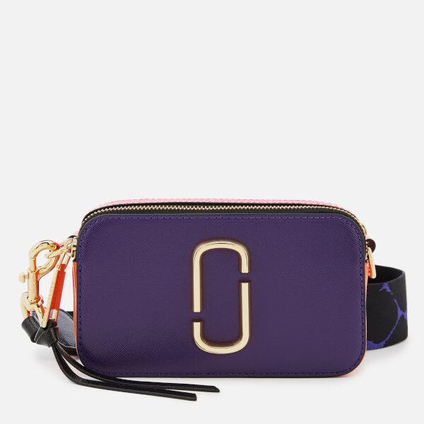 0ba3e5327ebf Marc Jacobs Women s Snapshot Cross Body Bag - Violet Multi  Image 1