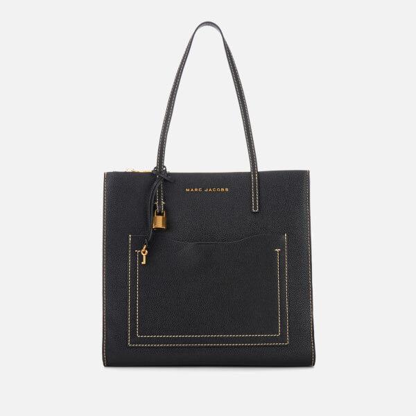 Marc Jacobs Women's Grind T Pocket Tote Bag - Black/Dark Cherry