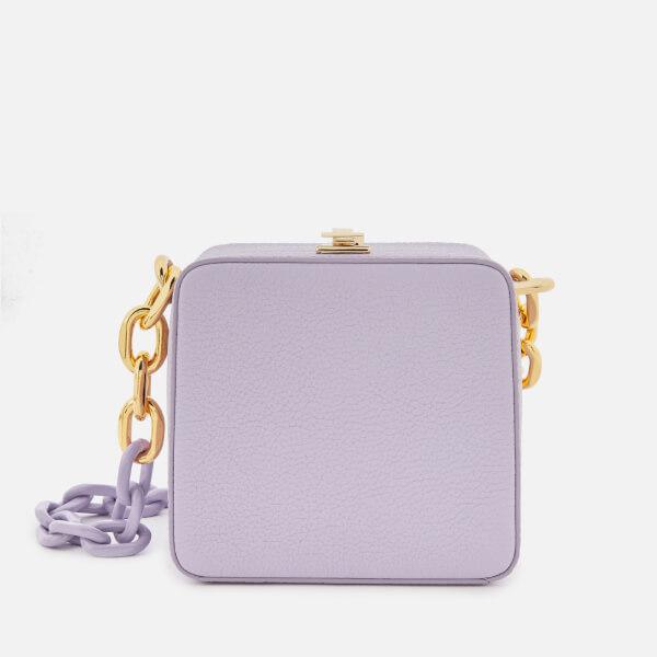 The Volon Women's Cube Chain Bag - Purple