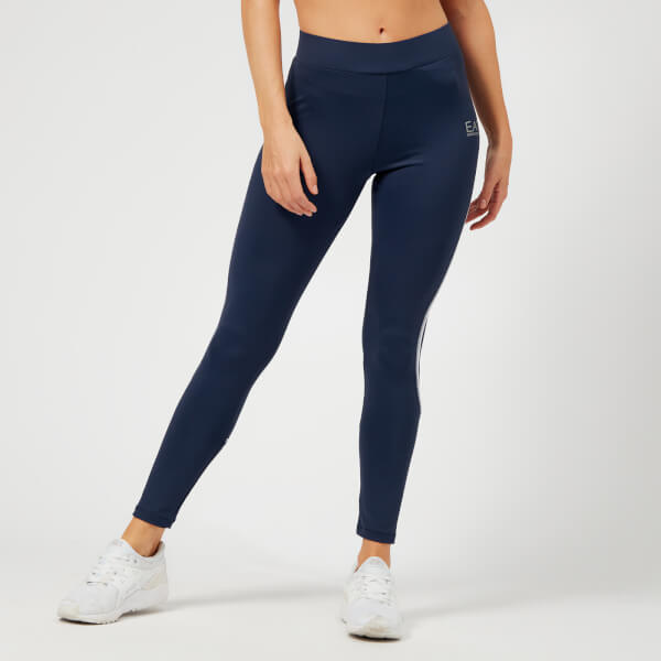 Emporio Armani EA7 Women's Leggings - Navy Blue