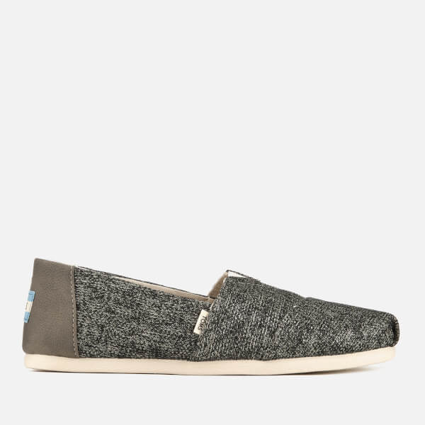 TOMS Women's Birch Technical Knit Alpargata Espadrilles - Grey