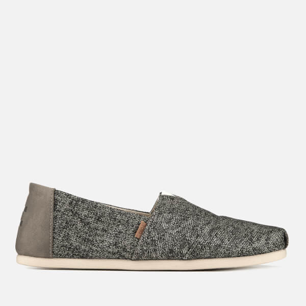 TOMS Men's Birch Technical Knit Alpargata Espadrilles - Light Grey