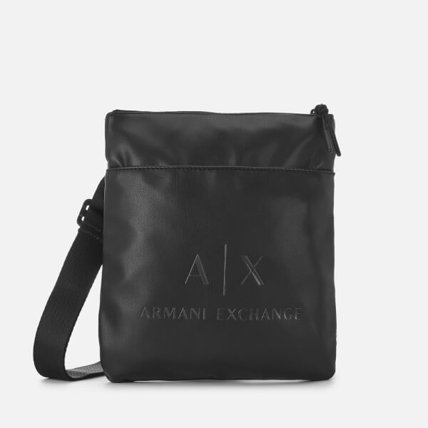 Armani Exchange Men's PU Cross Body Bag - Black