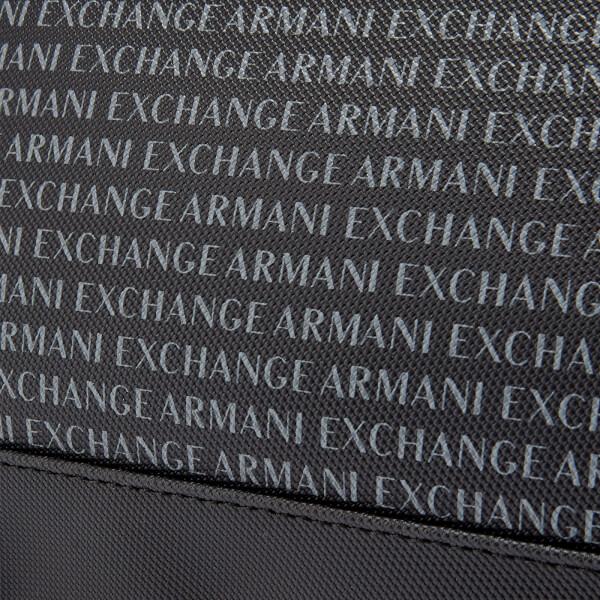 Armani Exchange Men s All Over Print Wash Bag - Black Clothing ... 487d2f7072c90