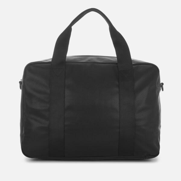 b43b475b109 Armani Exchange Men s Debossed Logo Overnight Bag - Black  Image 2