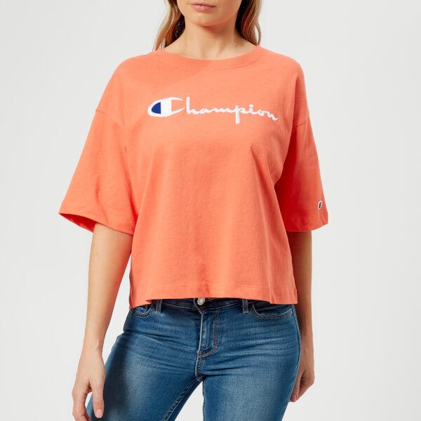 Champion Women's Maxi T-Shirt - Orange: Image 01