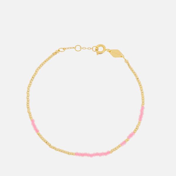 Anni Lu Women's Asym Bracelet - Pink