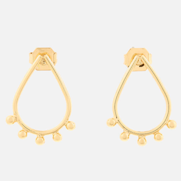 Whistles Women's Teardrop Stud Earrings - Gold