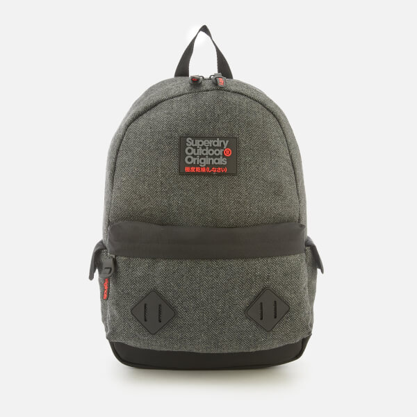 Superdry Men's Herrington Montana Backpack - Grey Herringbone
