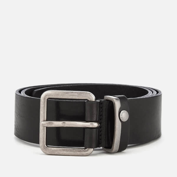 Ted Baker Men's Katchup Leather Belt - Black