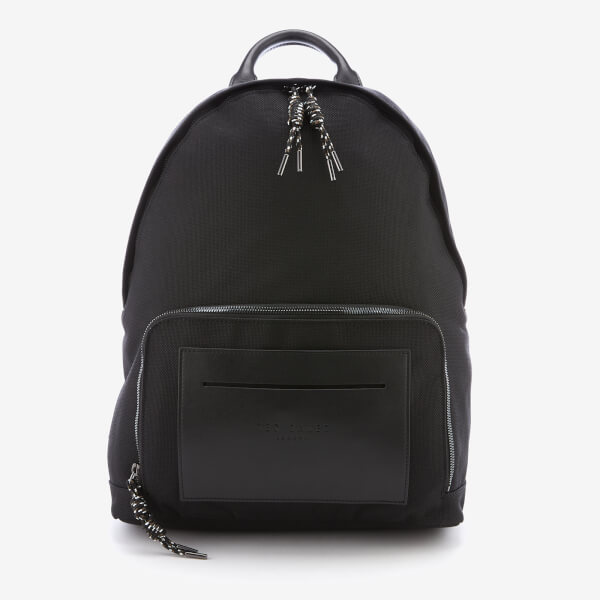 Ted Baker Men's Filer Smart Nylon Rucksack - Black