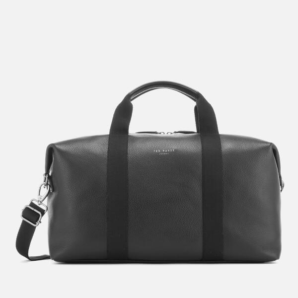 Ted Baker Men s Holding Leather Holdall Bag - Black Mens ... 963416afd084