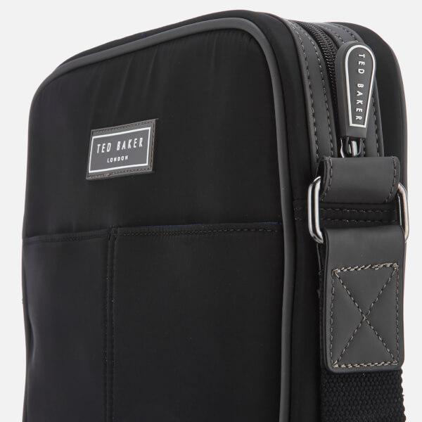 587c3209fe6f Ted Baker Men s Beachi Nylon Flight Bag - Black Mens Accessories ...