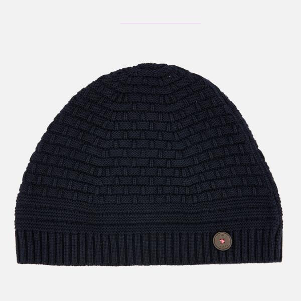 Ted Baker Men's Austell Knitted Hat - Navy
