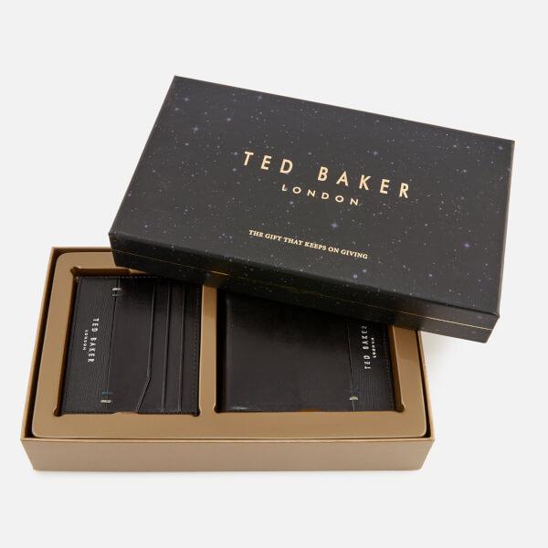 64b874ddf4a7a9 Ted Baker Men s Taglee Wallet and Card Holder Giftset - Black Mens ...