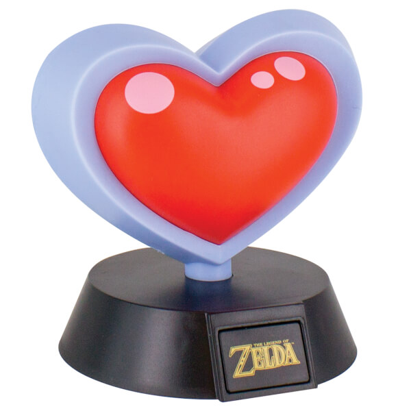The Legend of Zelda Heart Container Lamp