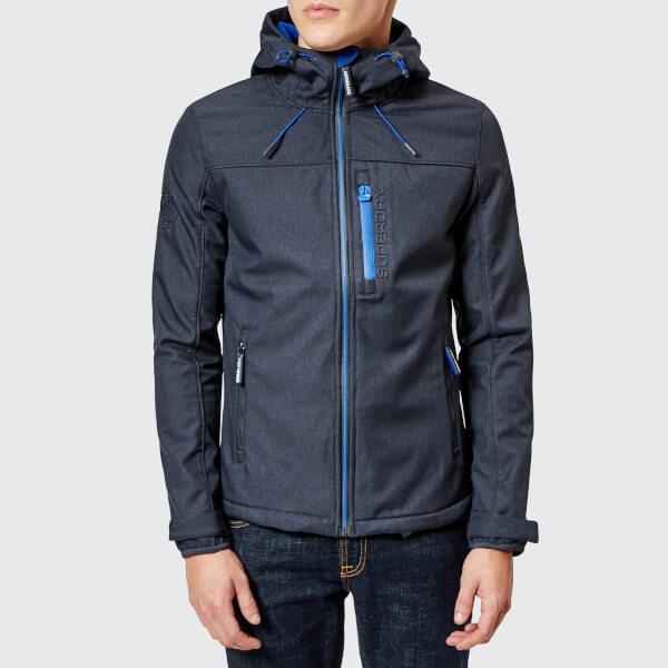 Superdry Men s Windtrekker Jacket - Moody Blue Marl Flash Cobalt  Image 1 c05976cf8b3d