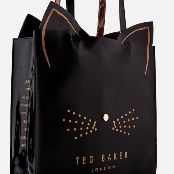 870a514497 Ted Baker Women's Felicon Cat Large Icon Bag - Black: Image 4