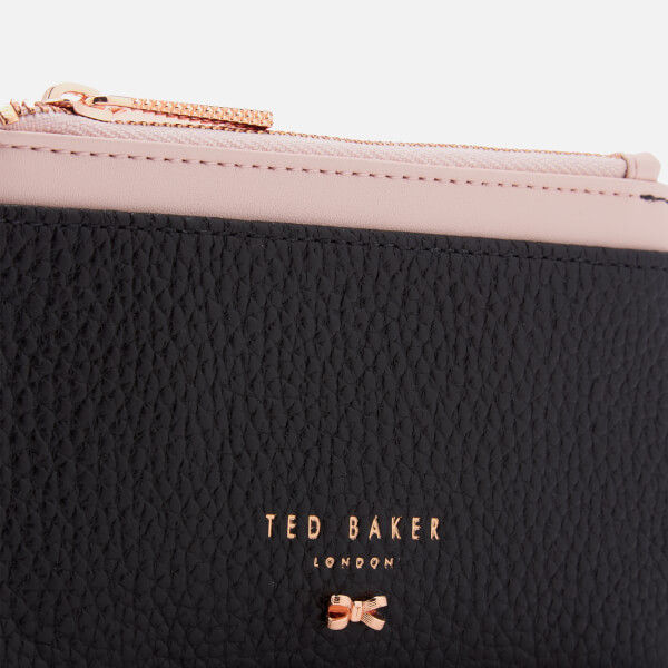 cfd49d51b44b36 Ted Baker Women s Lori Textured Zipped Credit Card Holder - Black  Image 4