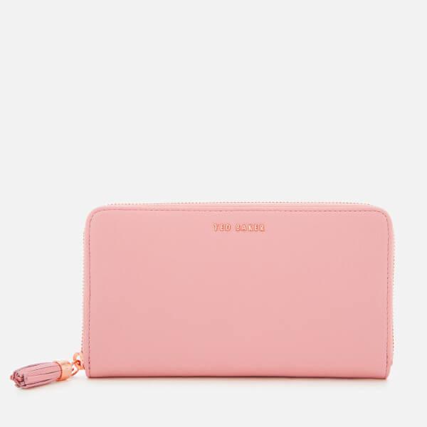 Ted Baker Women's Sheea Tassel Zip Around Matinee Purse - Dusky-Pink