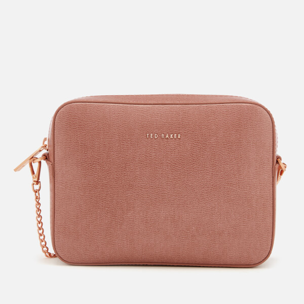 f3adf97c16487c Ted Baker Women s Marciee Core Leather Camera Cross Body Bag - Pink  Image 1