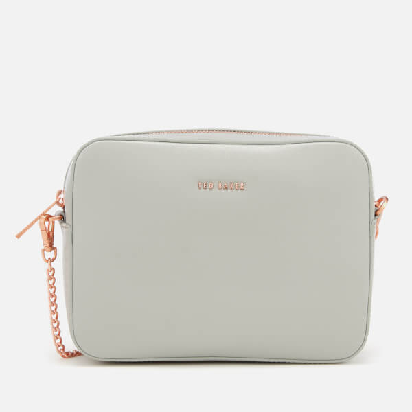 Ted Baker Women's Marciee Core Leather Camera Cross Body Bag   Grey by My Bag