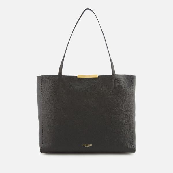 Ted Baker Women's Caullie Bow Detail Soft Shopper Bag - Black