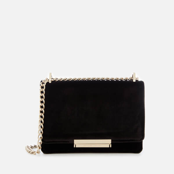 Kate Spade New York Women's Cameron Street Velvet Hazel Bag - Black