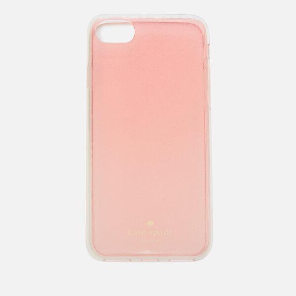 Kate Spade New York Women's Glitter iPhone 8 Cover - Rose Gold