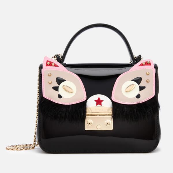 e81e6907081a Furla Women s Candy Ginger Meringa Mini Cross Body Bag - Black  Image 1
