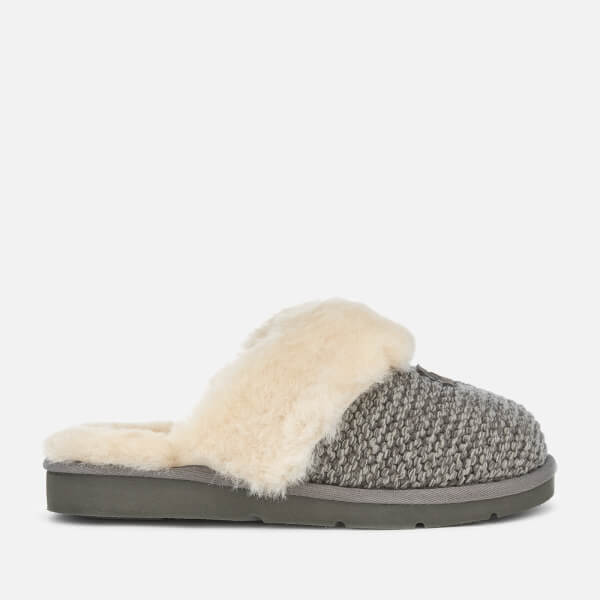 e3f9b535d9 UGG Women s Cozy Knit Slippers - Charcoal  Image 1