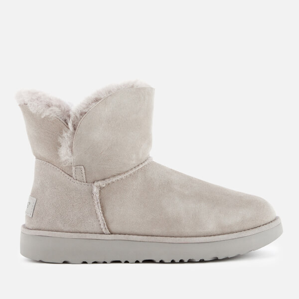 UGG Women's Classic Cuff Mini Sheepskin Boots - Seal